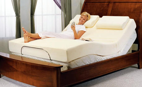 Adjule Bed With A Memory Foam Mattress Covered Fabric Backed By Cool Max