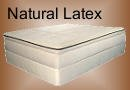 100% natural latex organic mattress
