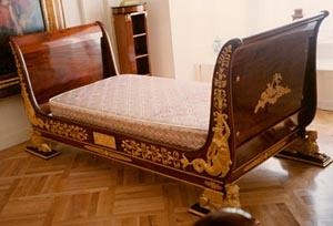 Custom Versace bed